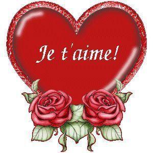 un coeur de st valentin