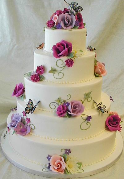 торт красивый фотошоп