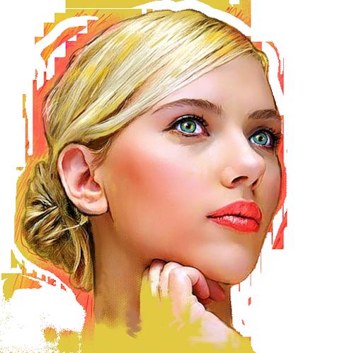 Femme ( visage )
