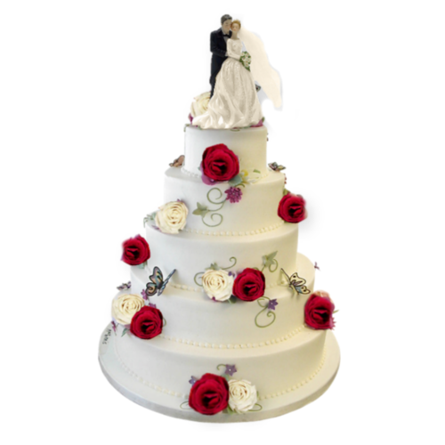 Wedding Cake Deco Cloture