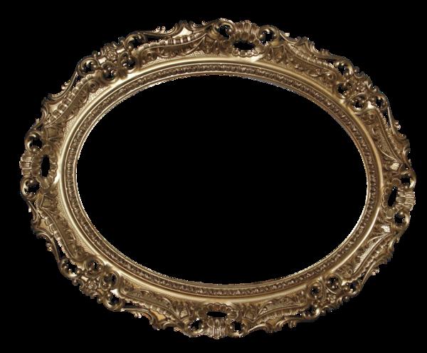 Tubes cadre rond ovale - Cadre photo transparent ...