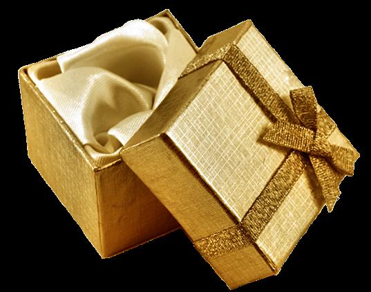 Boîte De Cadeau Le Jour De Noël Clip Art: Tubes Noel Dore