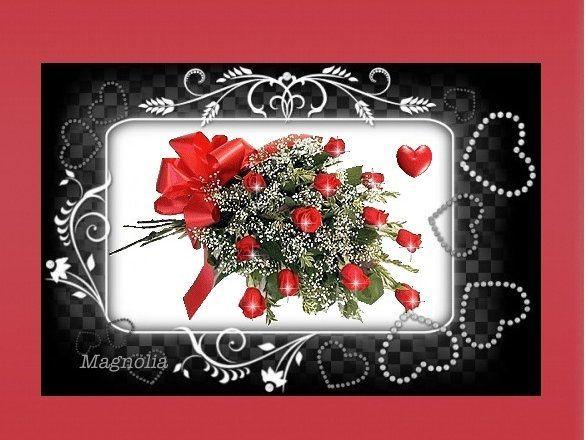 Mes creations cadres avec fleurs for Cadre photo fond ecran
